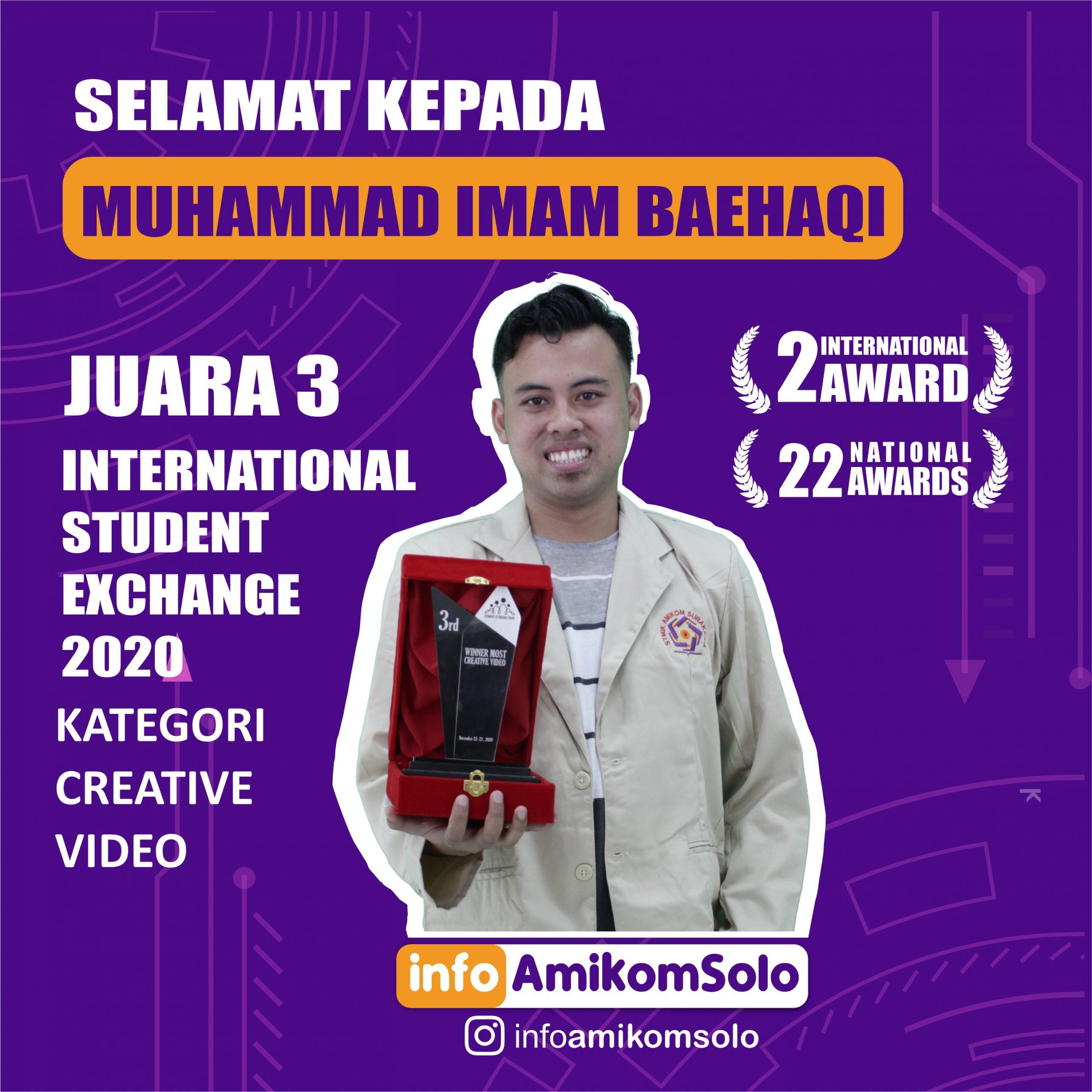 info amikomJUARA IMAM
